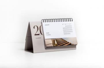 """In lịch để bàn theo yêu cầu làm quà tặng - """"vũ khí"""" của doanh nghiệp cho năm mới 2019"""
