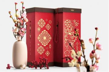 In ấn những mẫu mã hộp đựng quà Tết đẹp cho năm mới 2019.