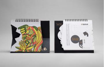 Những mẫu lịch để bàn trang trí là món quà Tết hoàn hảo của doanh nghiệp
